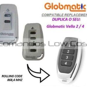 GLOBMATIC VELLA 2 / 4 Compatível